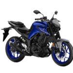 yamaha MT 03 boje icon blue